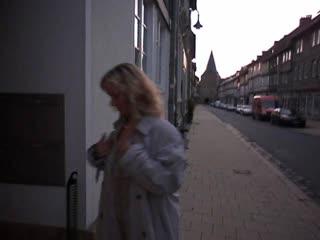 Tourist in Goslar