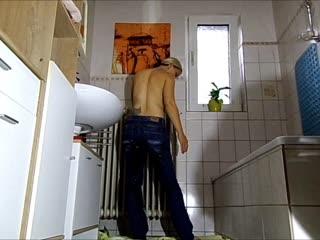Jeans Piss Wunschvideo