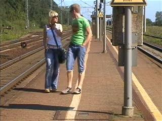 Am Bahnhof Abgeschleppt und ....