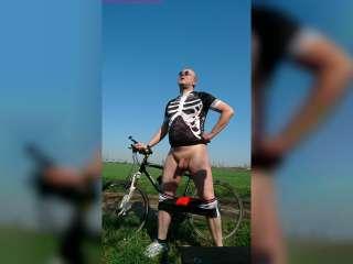Sexy Fahrradtour 2019 ** Nudist **