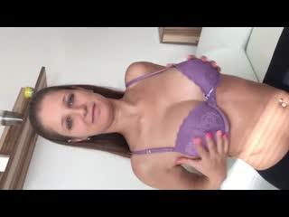 Striptease und blasen Große Schwanz