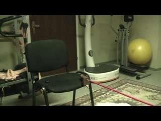 Mein tägliches Training hält mich fit und geil