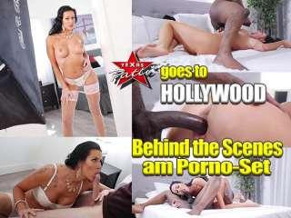 Texaspatti goes to Hollywood... Behind the Scenes am PornoSet