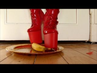 Banana Crushing in Pony Boots