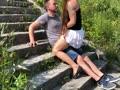 Public Sex at the Donau 3x Caught