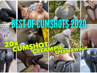 BEST OF ABSPRITZER 2020 | 20x Cumshot, Creampie, Spermawalk