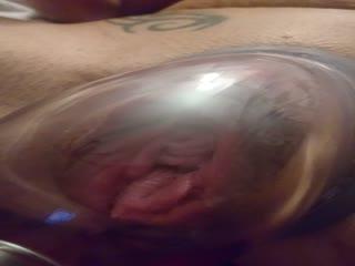 Muschi aufpumpen