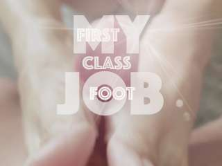 Image of My First Class Footjob