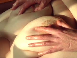 XXL Titten Massage