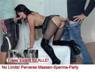 No Limits! Perverse Massen-Sperma-Party, AO
