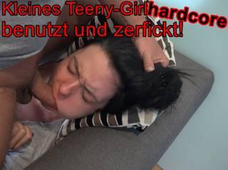 Kleines Teeny-Girl HARDCORE benutzt & zerfickt!