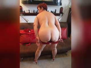Pic von Red Hair, Red Lingerie, Red Shoes