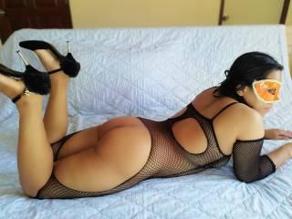 ich im sexy Netz Body