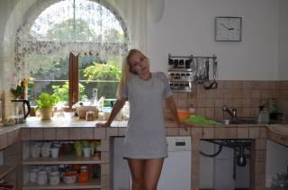 auch in der Küche komme ich richtig geil rüber
