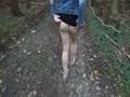 Im Wald erleichtert
