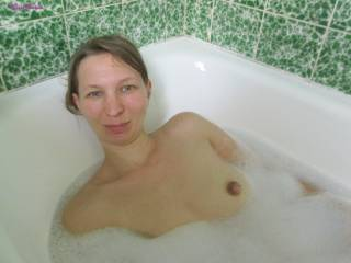 horny in the bathtub