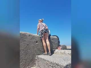 2 weeks nude in Crete 2017
